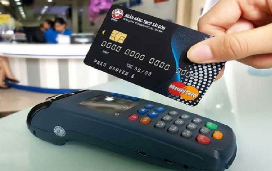 Thanh toán bằng thẻ Master Card
