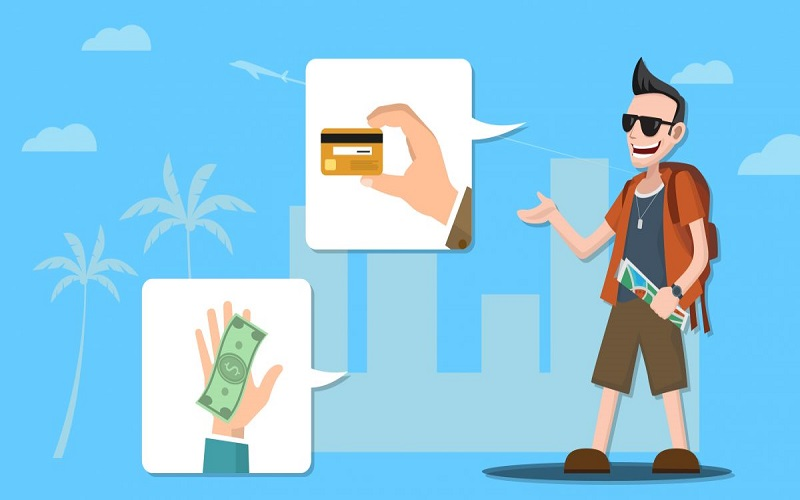 Khách hàng có thể thoải mái mua sắm trực tuyến mà không cần đến tiền mặt