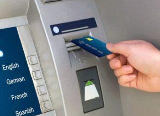 Cách rút tiền thẻ tín dụng tại cây ATM
